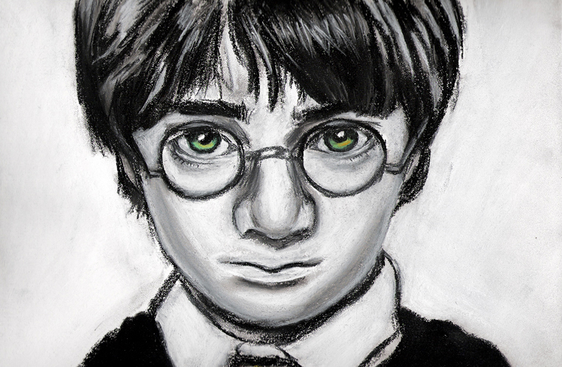 harry harry potter drawings easy i know kim really digs harry harry