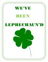 youve been leprechaund