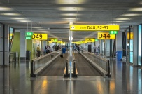 Schiphol Gate D, Amsterdam, The Netherlands