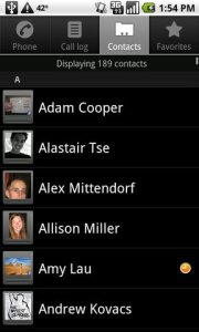 android-contacts