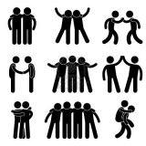 11965720-friend-friendship-relationship-teammate-teamwork-society-icon-sign-symbol-pictogram