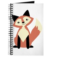 cute_sitting_fox_journal