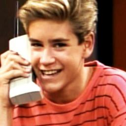 That Zack Morris Swagger