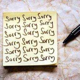 Apologies & Excuses
