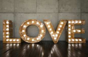 LOVE Bulb Sign